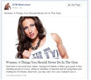 gym motivation unlikes